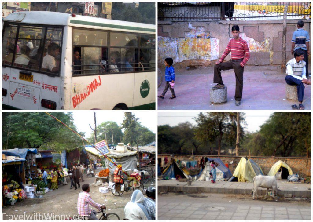 印度 india street scene