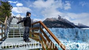 Visit to Glaciar Perito Moreno in Argentina