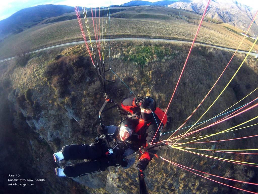 紐西蘭 皇后鎮 飛行傘