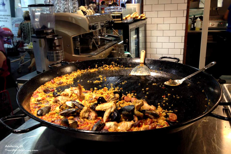 Paella Adelaide Central Market