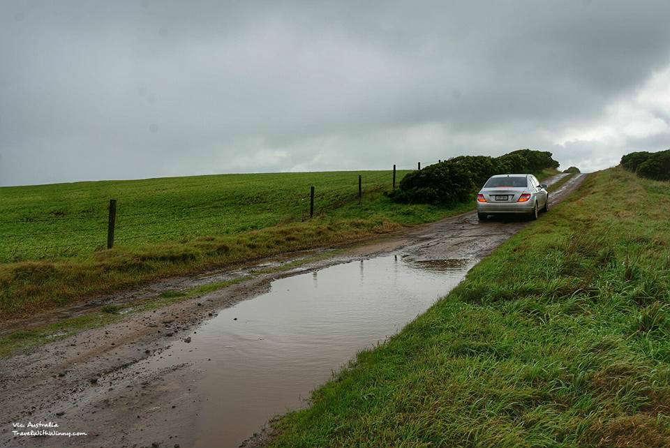 車子 泥巴 car mud 大洋路 自駕路線