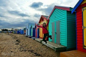 Melbourne- Brighton Bathing Boxes