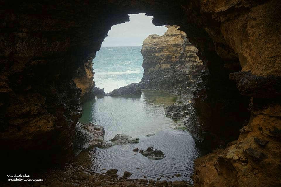 岩溶塌陷, 動搖洞, 吞口, 沉洞, sink hole, grotto 大洋路 自駕路線