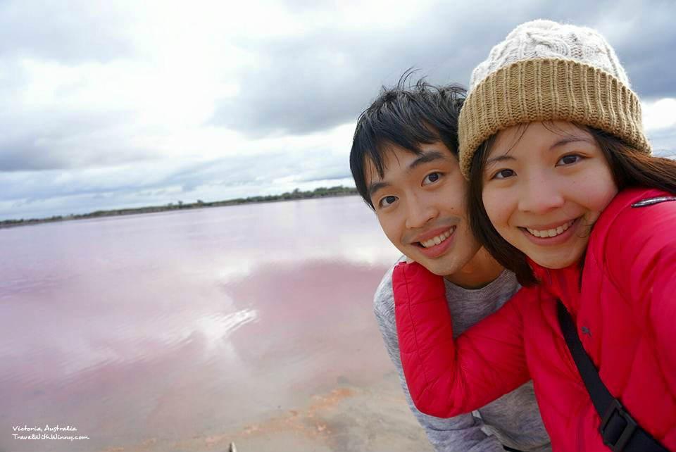 粉紅湖 自拍 澳洲