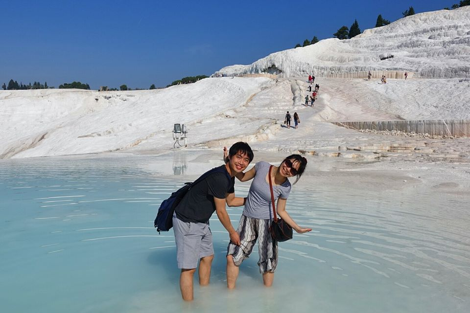 Travertines Pamukkale 土耳其 棉堡 水池