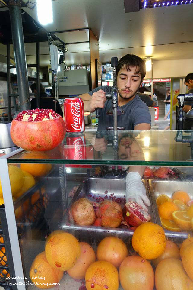 Juice 土耳其 果汁 what to eat in Istanbul