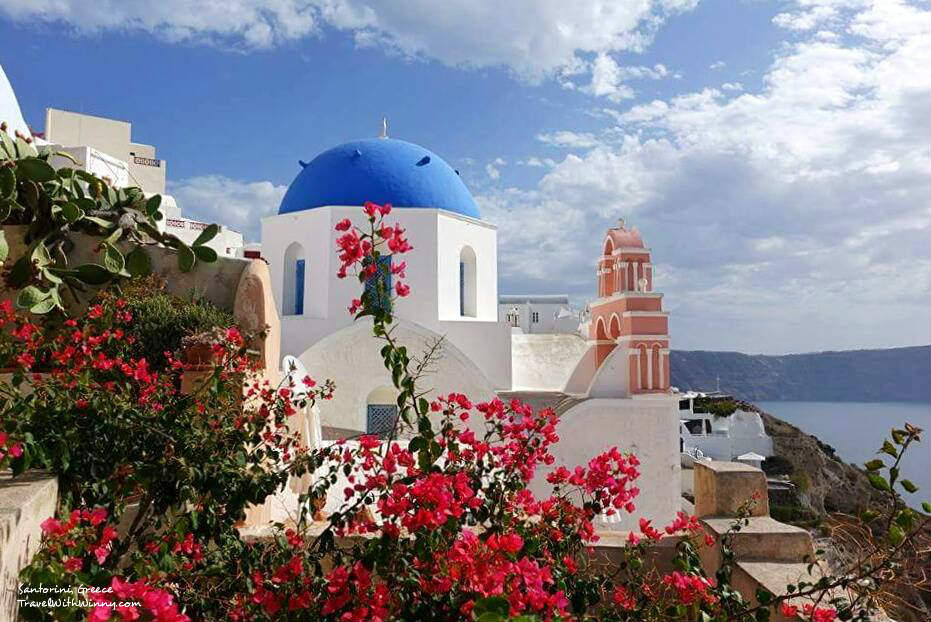 santorini oia 希臘 風景 Best place to stay in santorini