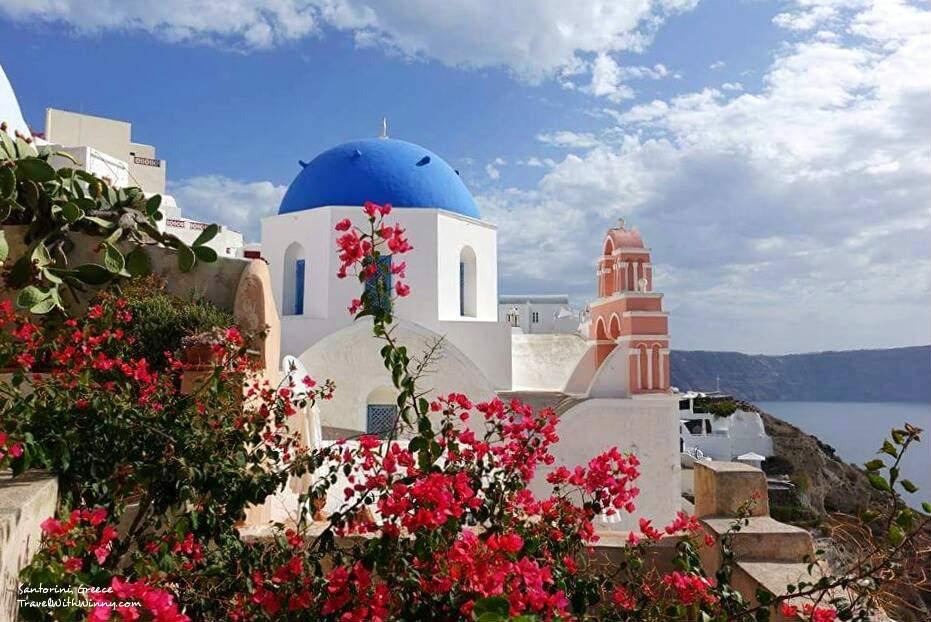 santorini oia 希臘 風景 Best place to stay in santorini