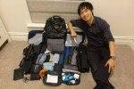 【 打包行李術 】一年的長途旅行,八公斤手提行李就搞定!