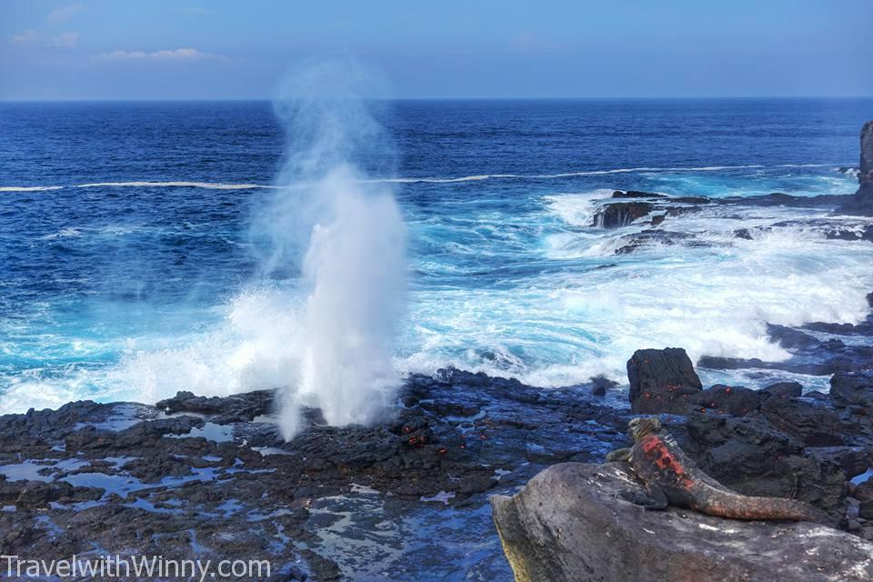 噴泉洞 blowhole