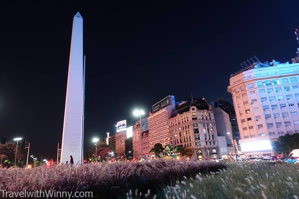 Avenida 9 De Julio 七月九日大道 Obelisco 布宜諾斯艾利斯 方尖碑