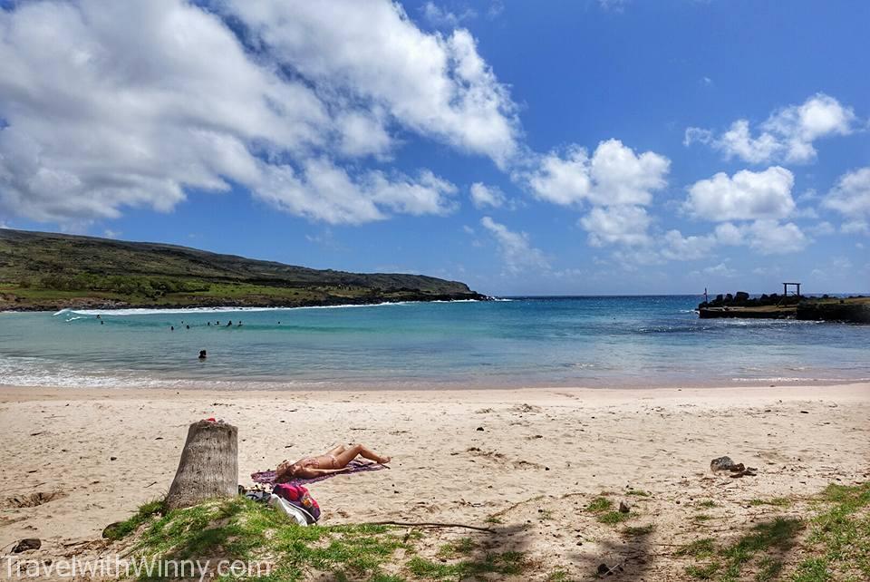 酷似夏威夷海灘, 海邊愛好者的天堂.