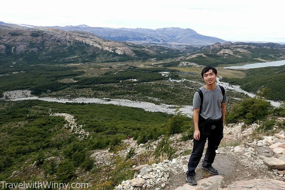 攻頂風景 view from the top