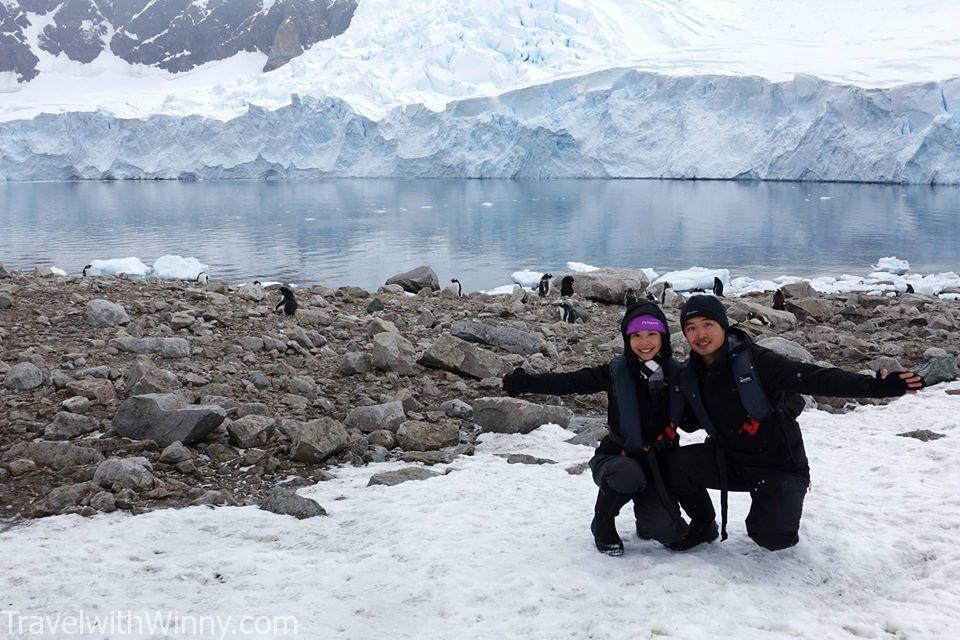 我們來南極最大的收穫不只是看到意想不到的景色, 而是讓我們的人生觀成長了許多!