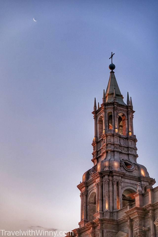 church tower 教堂鐘塔