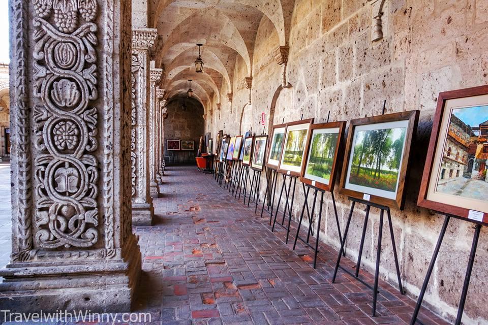 藝術畫廊 corridor