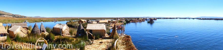 Islas flotantes de los uros 漂浮 蘆葦島