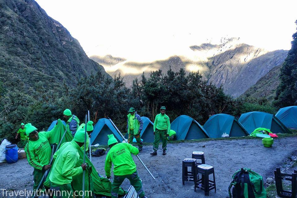 ayapata camp site