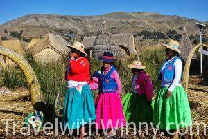 """【秘魯 & 玻利維亞】Lake Titicaca 的的喀喀湖- 漂浮的 """"蘆葦島"""" & 充滿印加古蹟的小島"""