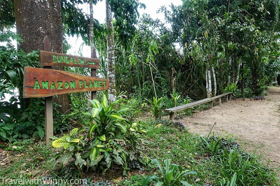 我們接下來兩晚的住宿 Amazon Lodge.