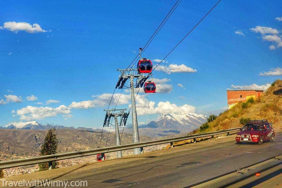 cable car La Paz拉巴斯 纜車