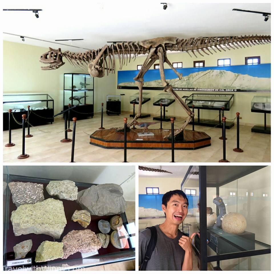 Museum in Parque Cretocico