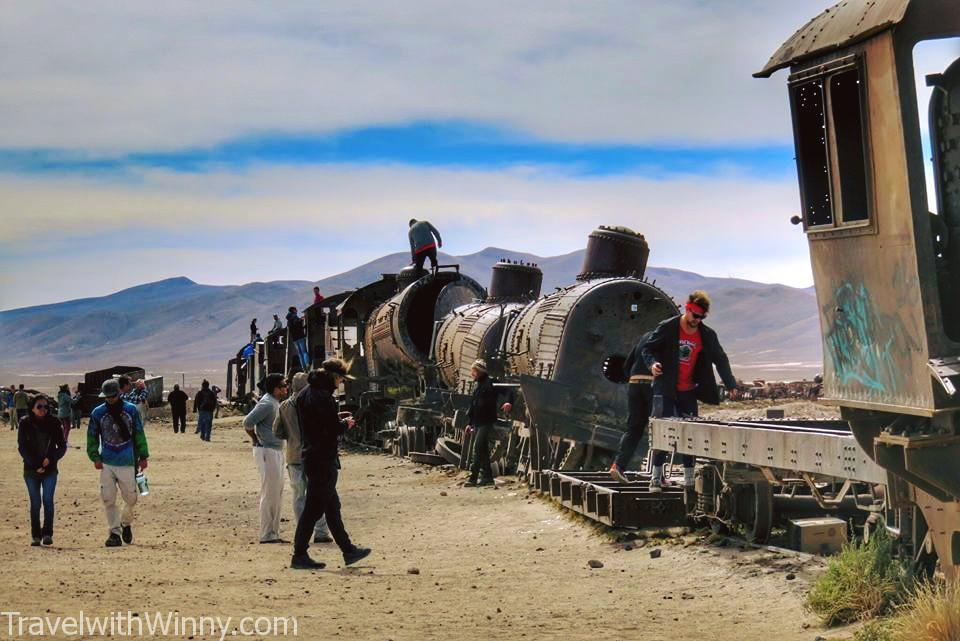 Train Graveyard 火車 廢棄