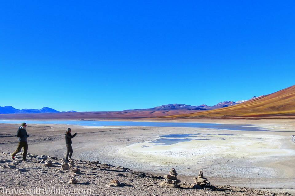 Laguna Blanca 彩色湖