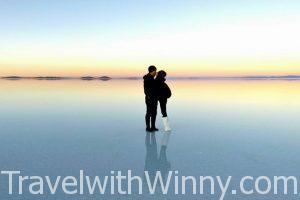 【玻利維亞】烏尤尼鹽湖 Uyuni の 天空之鏡- 攝氏零下最美的日出