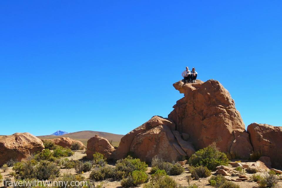 strange rock formation 奇特石頭