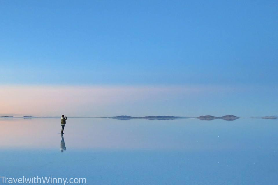 天空之鏡 uyuni reflection 玻利維亞 日出 SUNRISE largest mirror