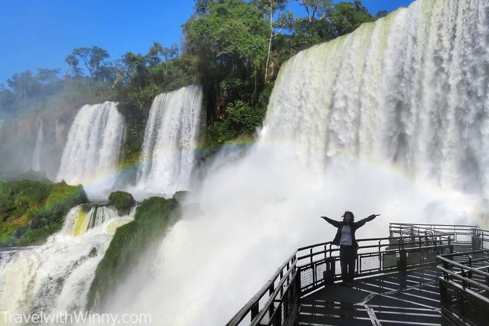 伊瓜蘇瀑布 igauzu fall experience 阿根廷 argentina