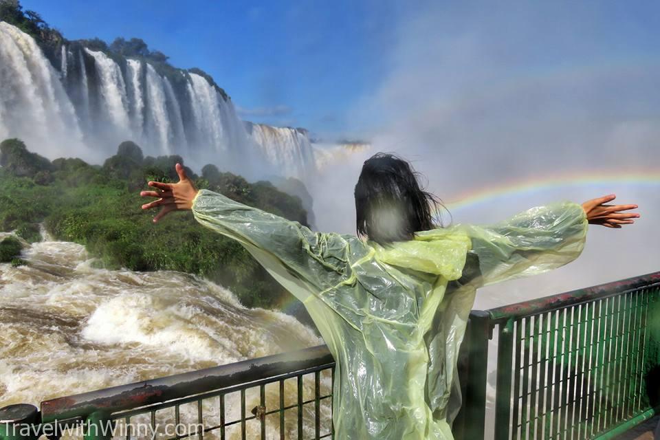 伊瓜蘇瀑布 igauzu fall experience巴西 brazil, devil's throat, wet