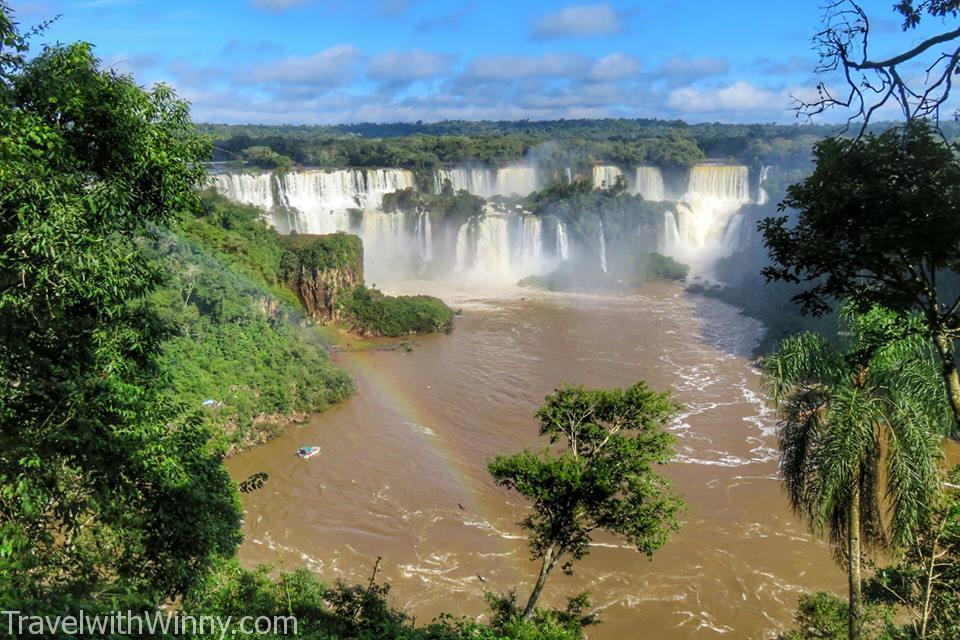 iguazu fall experience, Brazil