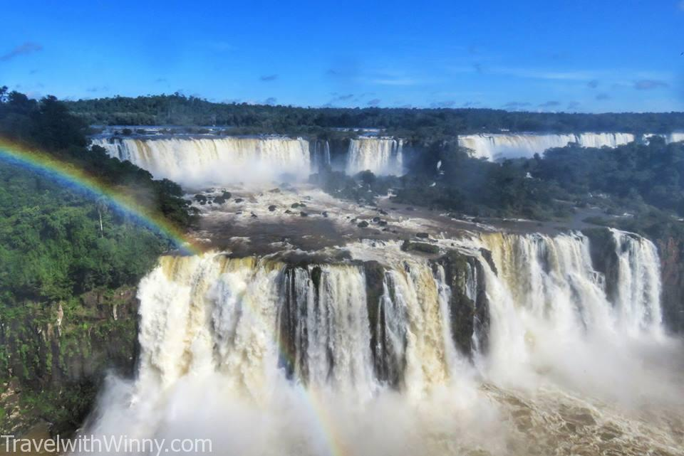 伊瓜蘇瀑布 igauzu fall experience 巴西 brazil