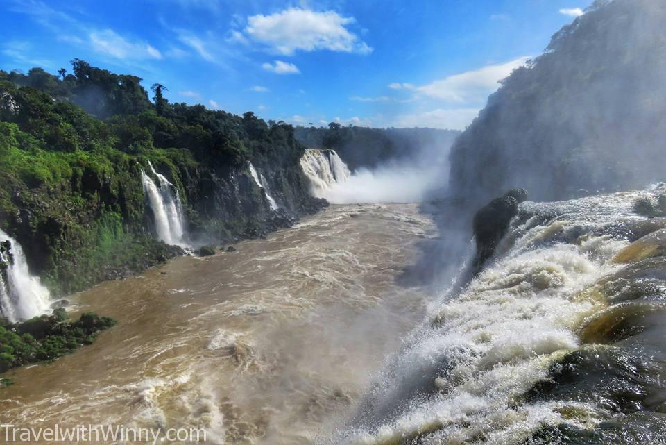 伊瓜蘇瀑布 igauzu fall 巴西 brazil, Inferior Iguazu River