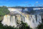 """伊瓜蘇瀑布 Iguazu Falls 行跨阿根廷與巴西的 """"世界新七大自然奇景"""""""