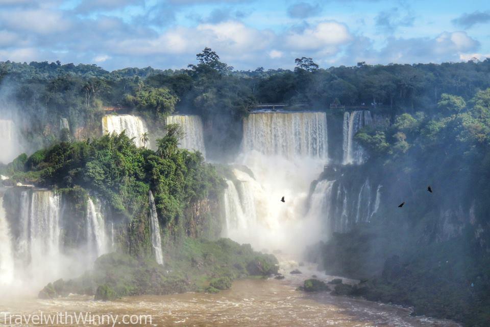 伊瓜蘇瀑布 igauzu fall experience Argentina