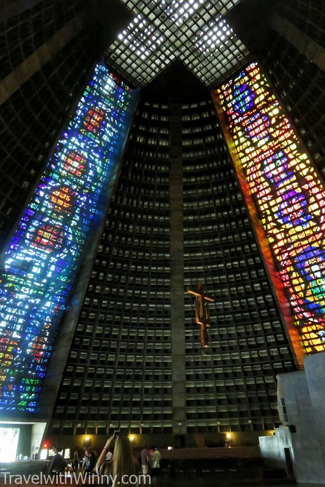 metropolitan cathedral 里約教堂