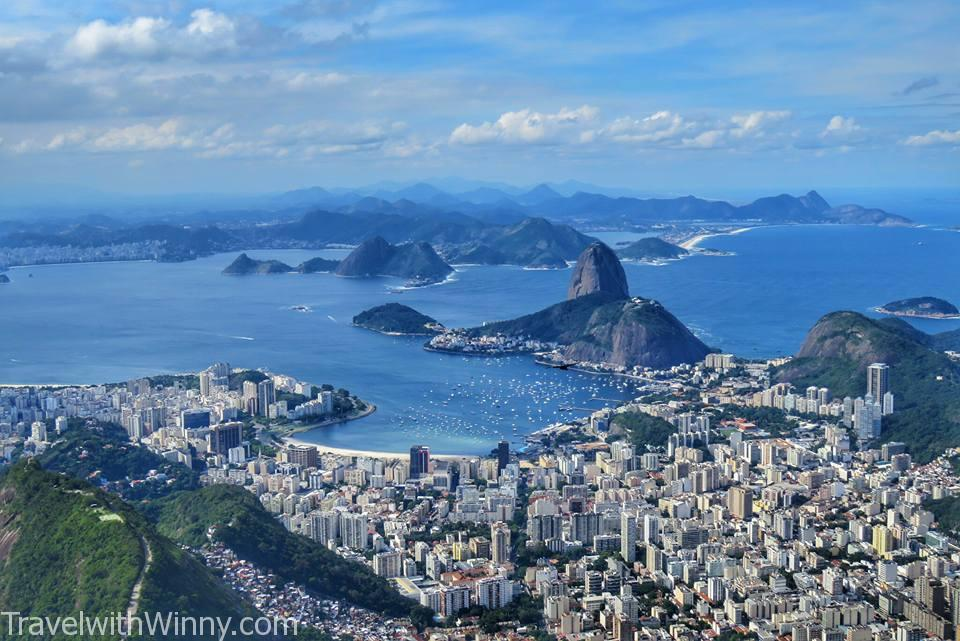 rio, view from christ the redeemer
