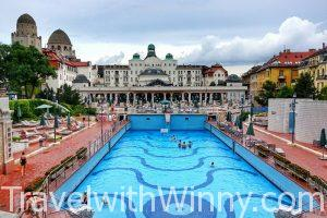 A Night in Budapest Spa Hotel @Danubius Gellert Hotel