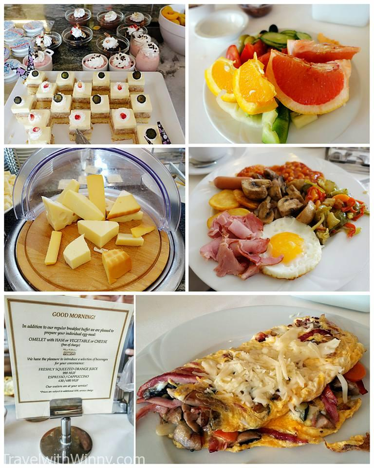 breakfast buffet 豐盛早餐