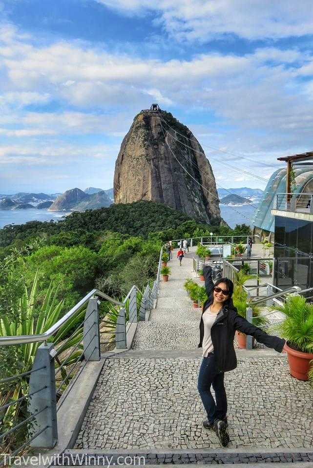 Sugarloaf Mountain 糖麵包山, travelling in Rio