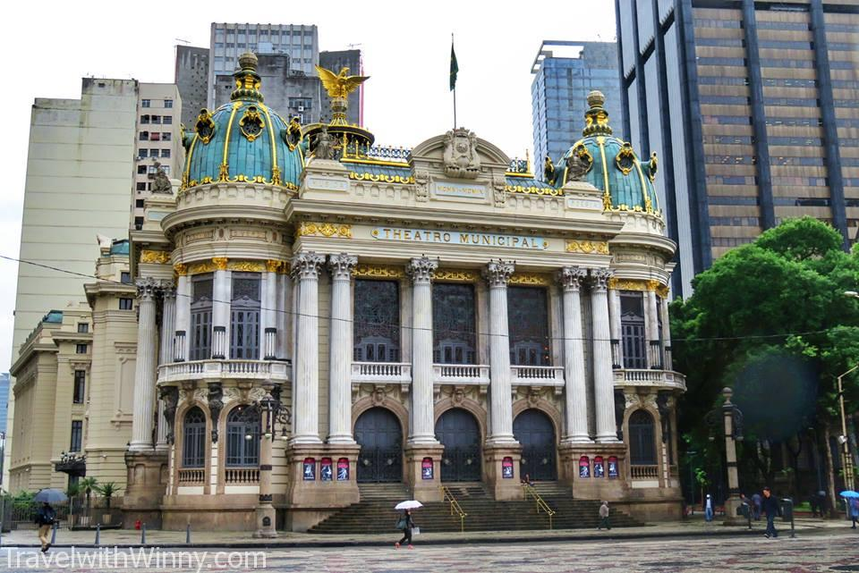 Theatro Municipal 里約熱內盧市立劇院, travelling in Rio