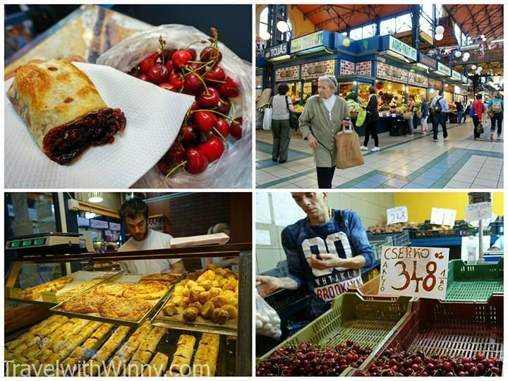 central market budapest 布達佩斯 傳統市集