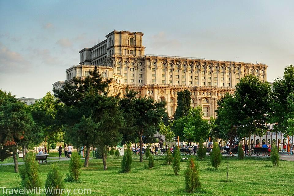 羅馬尼亞 Bucharest 布加勒斯特 parliament 國會大廈