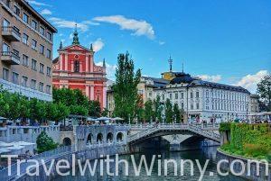【阿爾卑斯山的童話首都】 Ljubljana 盧比安納 & Lake Bled 布萊德湖