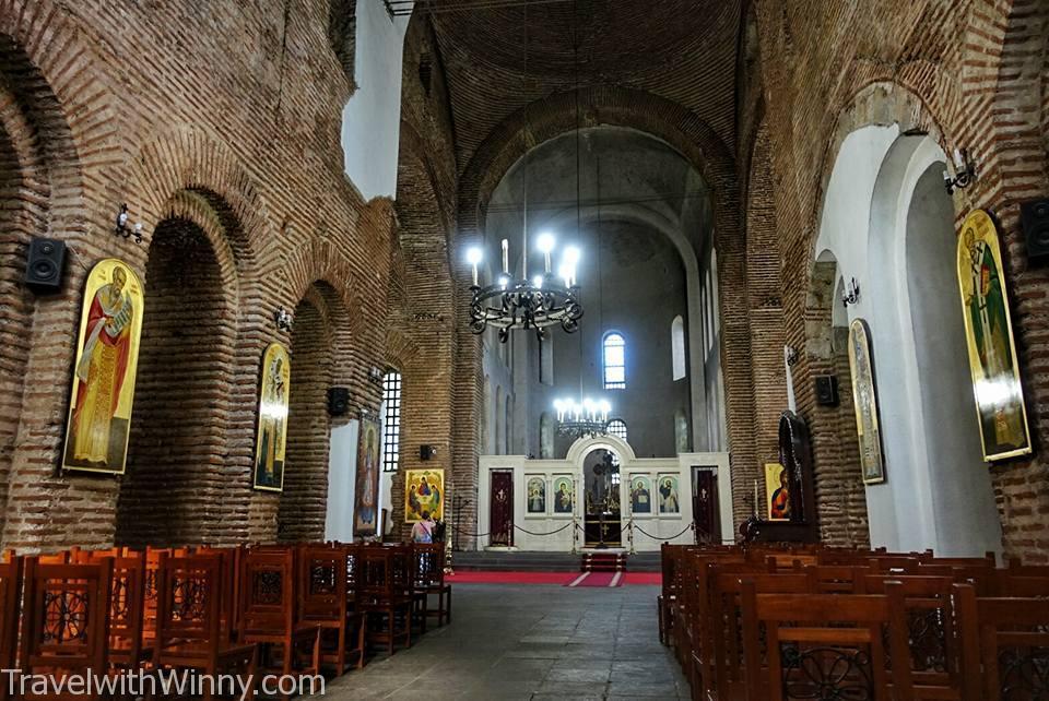 索菲亞 古老 教堂 內部 sofia church