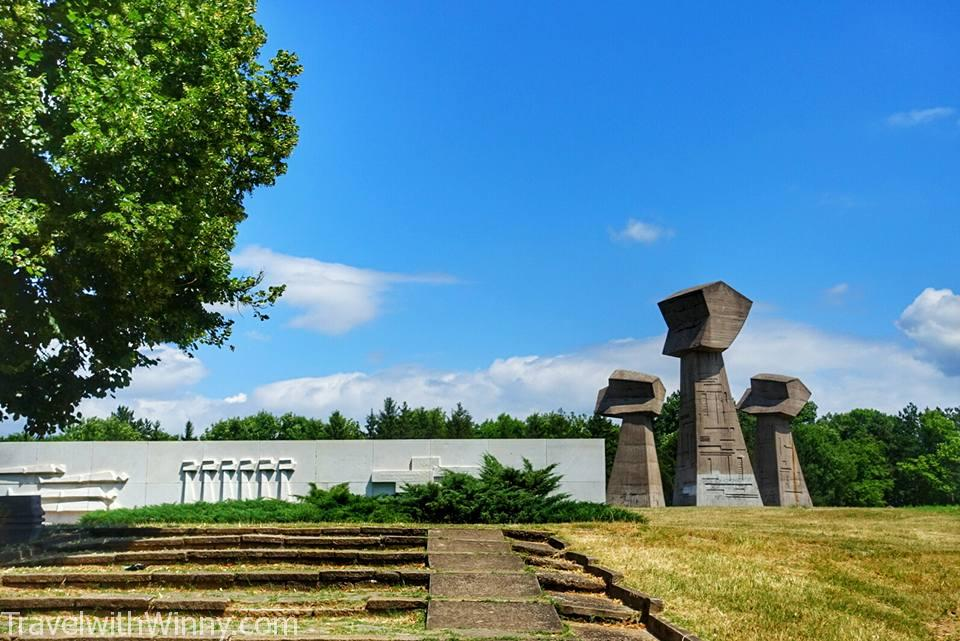 Bubanj Memorial Park 第二次世界大戰紀念碑