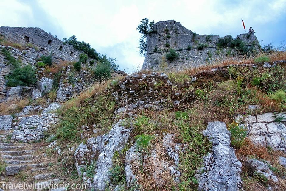kotor fortress 科托爾堡壘